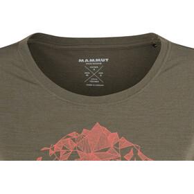 Mammut Alnasca - Camiseta manga corta Mujer - Oliva
